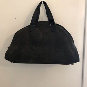 BANANA REPUBLIC Large Suede Tote ~ ROLLERBLADES